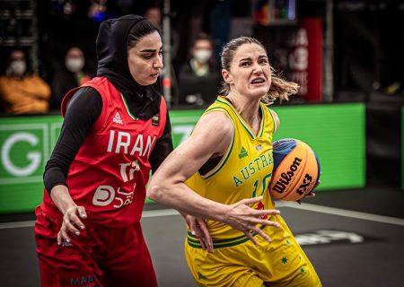 ویدئو   ایران و استرالیا   بسکتبال سه نفره زنان انتخابی المپیک