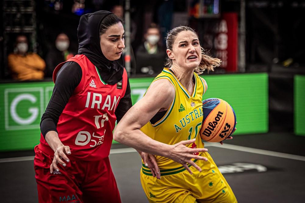 ویدئو | ایران و استرالیا | بسکتبال سه نفره زنان انتخابی المپیک