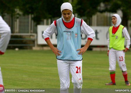 شکست تیم ملی فوتبال زنان ایران برابر ازبکستان
