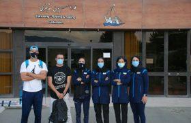 دختران رویینگ ایران عازم انتخابی المپیک در ژاپن شدند