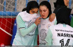 تصاویر دیدار سایپا و حفاری خوزستان در لیگ فوتسال زنان