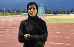 پرش ۶ متر و ۱۸ سانتی متری دختر دوومیدانی کار در ترکیه