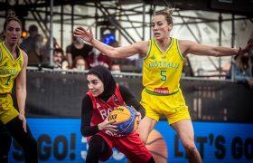 دختران بسکتبال مقابل غولهای اوکراین و استرالیا مغلوب شدند