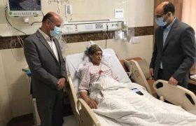 آخرین وضعیت شهربانو منصوریان پس از جراحی شکم