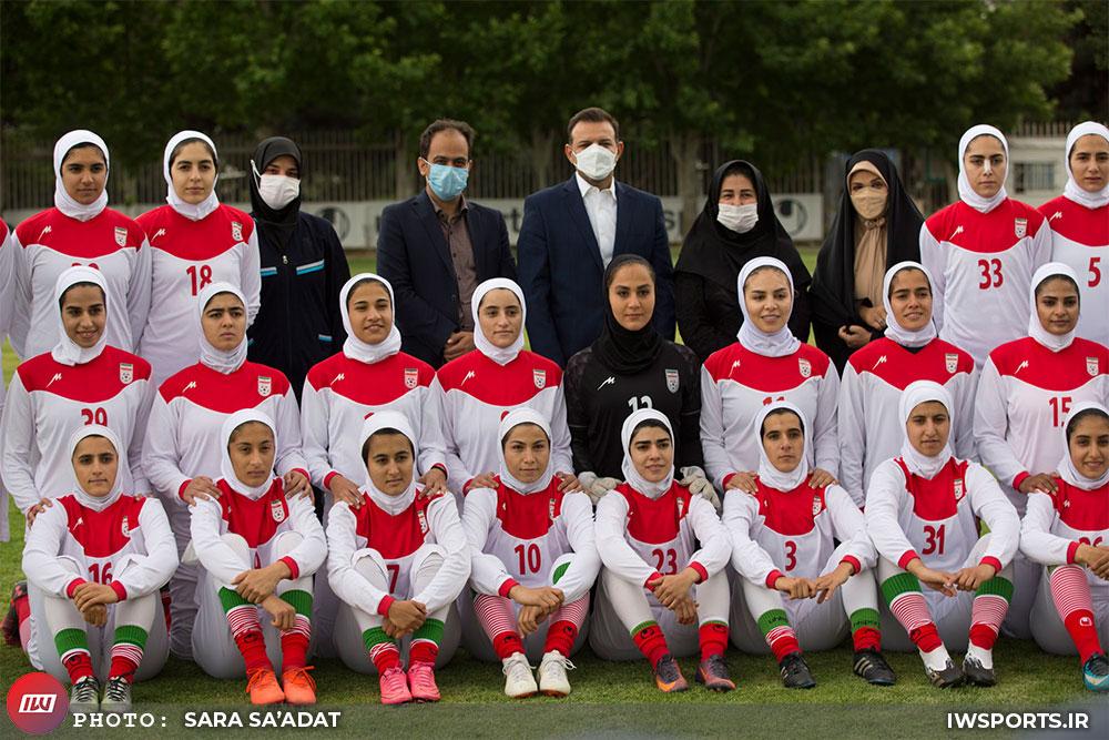 اردوی تیم ملی فوتبال بزرگسال زنان از فردا آغاز میشود