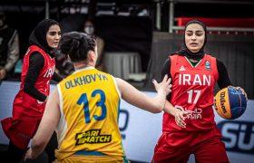 ویدئو | ایران و اوکراین | بسکتبال سه نفره زنان انتخابی المپیک