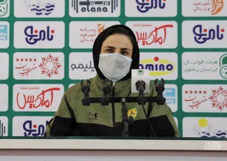 نرگس علوانی : فدراسیون فوتبال با انتخاب داوران خوب زحمات تیم ها را ارج نهد