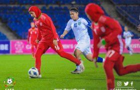 ویدئو فوتبال زنان | ایران ۲ ازبکستان ۲ | مسابقات جوانان کافا