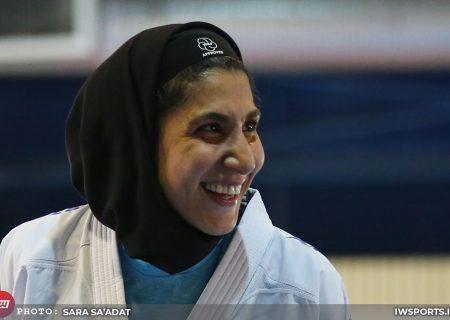 تصاویر تمرین تیم ملی کاراته زنان در آکادمی ملی المپیک