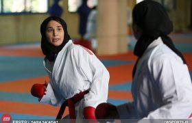 گزارش تصویری تمرین تیم ملی کاراته بانوان