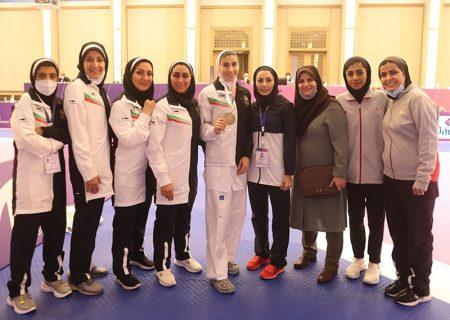 رنکینگ المپیکی تکواندوکاران زن ایرانی در ماه ژوئن اعلام شد