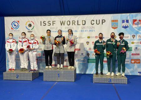 دختران تیرانداز ایران قهرمان جهان شدند