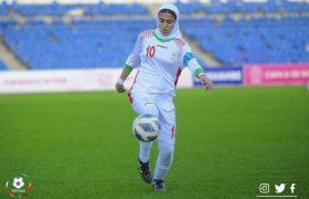پیروزی ۸ گله تیم ملی فوتبال جوانان دختر برابر افغانستان