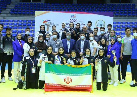 تیم ملی تکواندو زنان نایب قهرمان آسیا شد | نگاهی بر تجربه لبنان