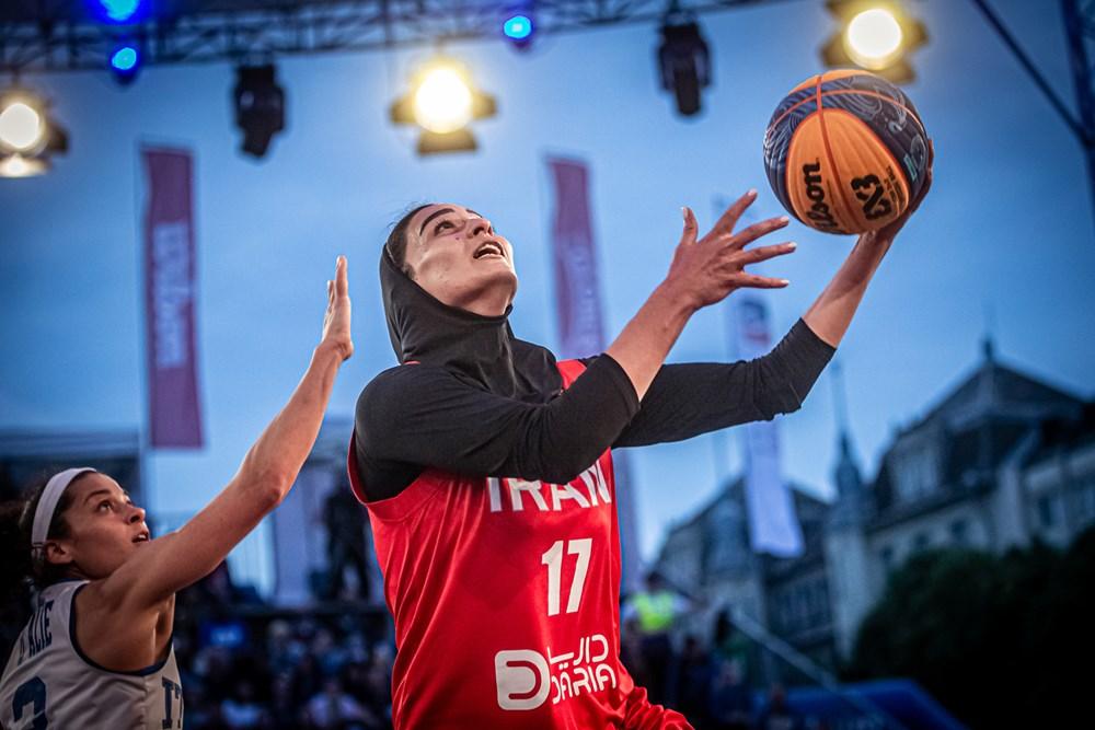 شکست دختران بسکتبالیست ایران برابر چین تایپه و ایتالیا