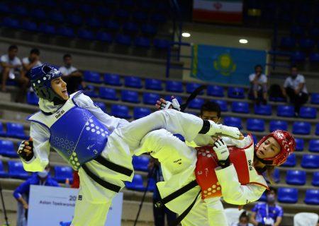 رویارویی ناهید کیانی و کیمیا علیزاده در دور نخست المپیک توکیو