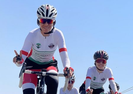 نگاهی به حضور ۵ دختر رکابزن ایران در ترکیه به لطف تیمی عراقی