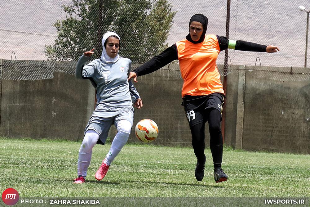 پیروزی قاطع تیم ملی فوتبال بانوان برابر منتخب اصفهان