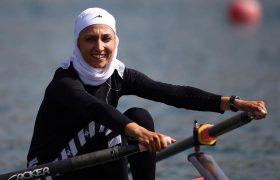 نازنین ملایی در المپیک توکیو : بی قایق و بی پر پرواز